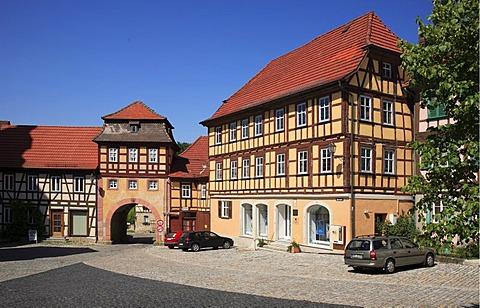 Koenigsberg, district Hassberge, Franconia, Bavaria, Germany