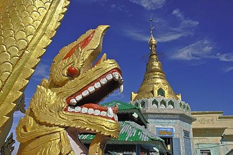 Monastery of Tuyin Taung, mount popa, Myanmar, Burma