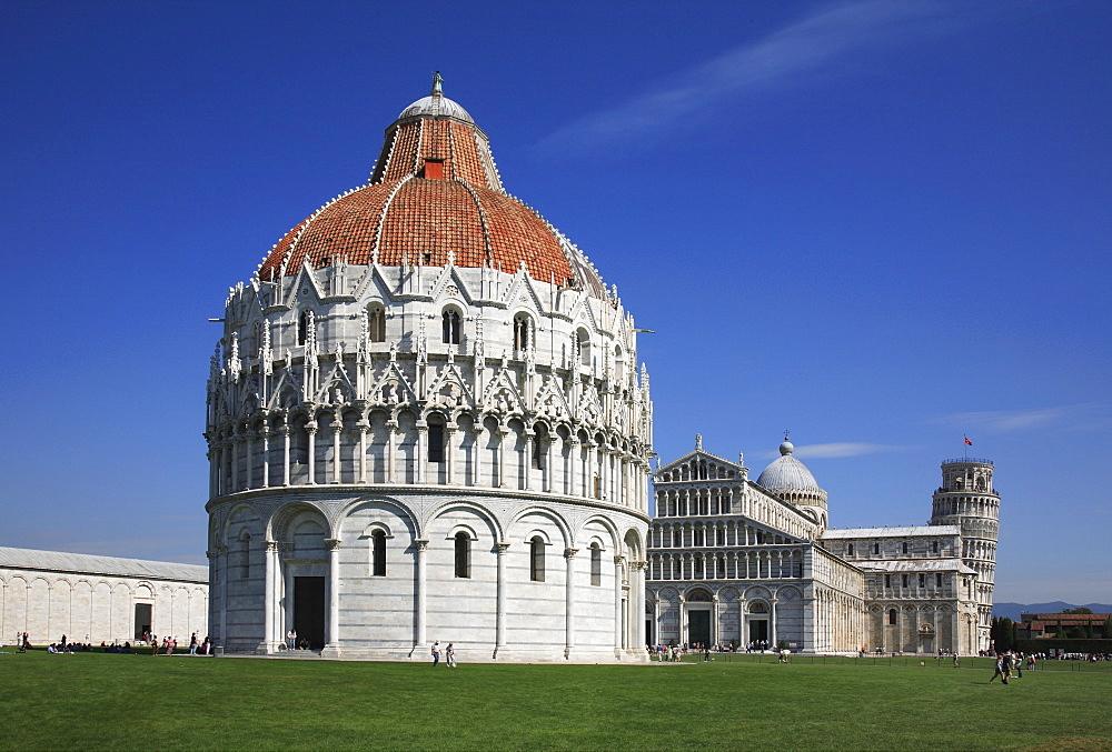 Baptistery at Pisa, Tuscany, Italy