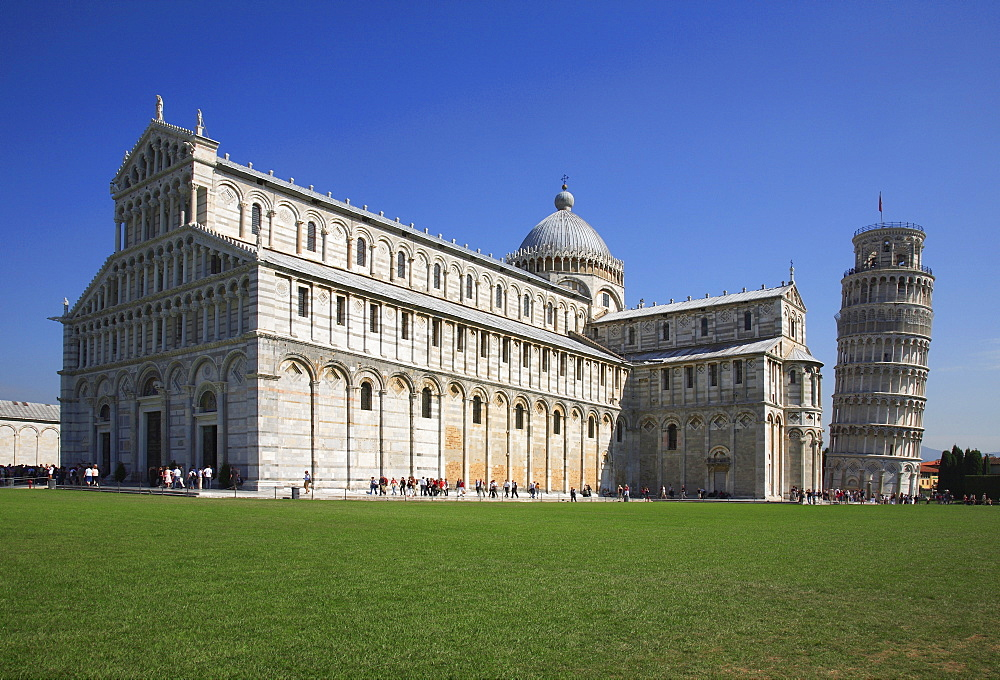 Cathedral Santa Maria Assunta and Leaning tower, Pisa, Tuscany, Italien