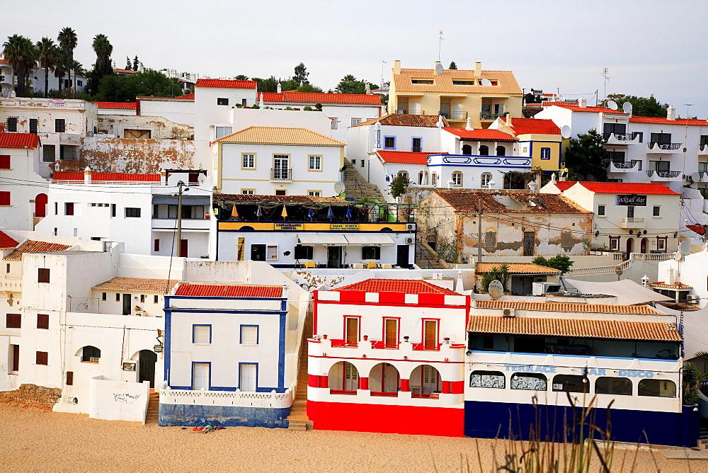 Town of Carvoeiro, Algarve, Portugal