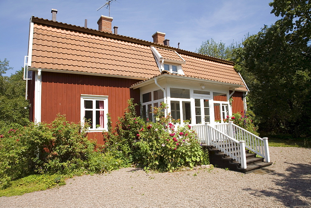 Astrid Lindgren's birthplace in Naes near Vimmerby, Sweden, Scandinavia, Europe