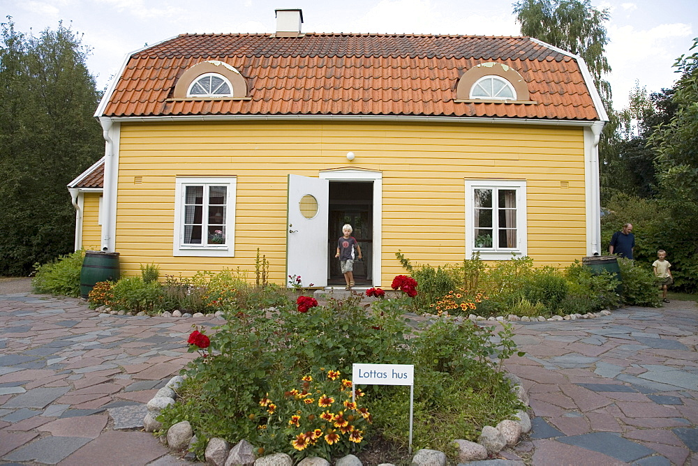 Lotta's House, Astrid Lindgren's World amusement park, Vimmerby, Sweden, Scandinavia, Europe
