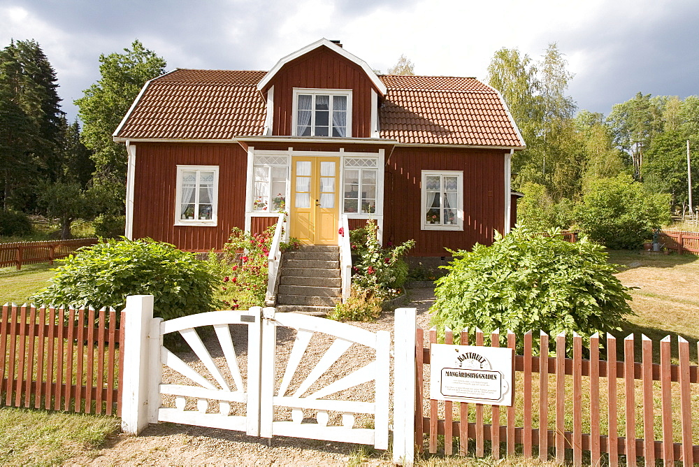 Film shooting location and former home of Astrid Lindgren in Katthult/Gibberyd, Sweden, Scandinavia, Europe