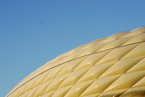Munich, GER, 12. Oct. 2005 - Facade of Munich Allianz-Arena