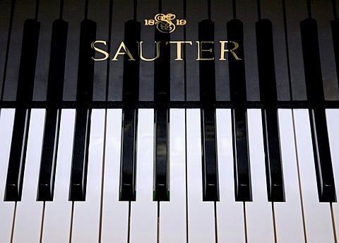 Munich, GER, 03. May 2006 - A keyboard of a SAUTER piano.