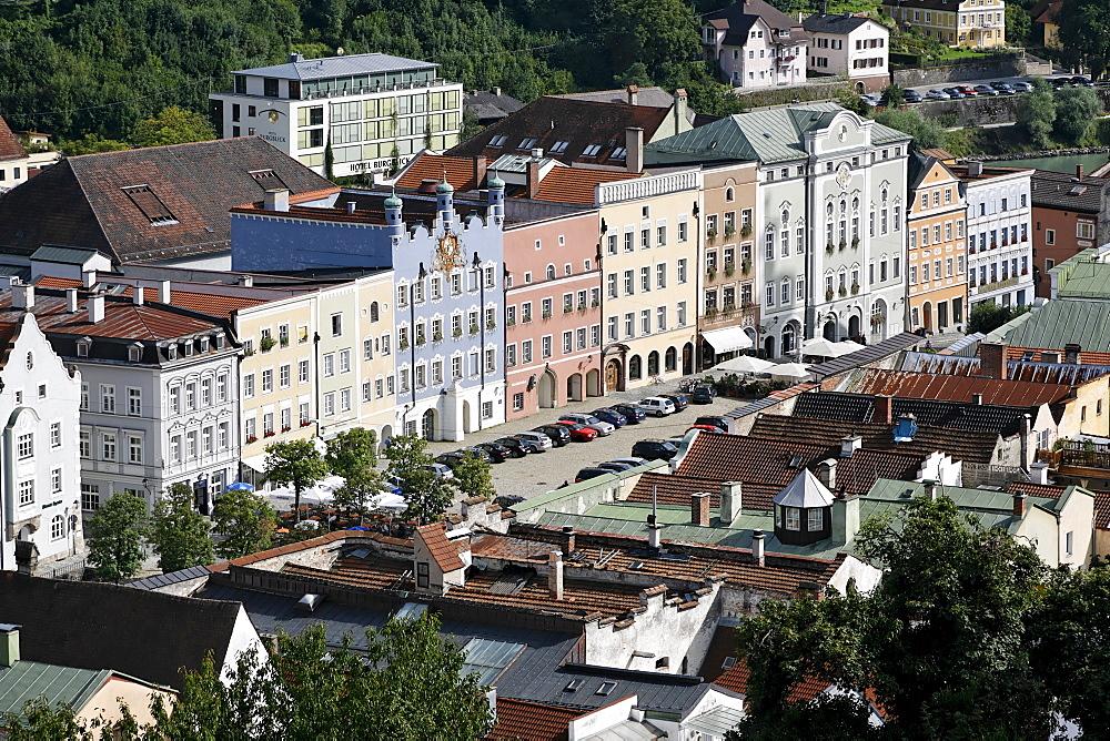 City of Burghausen Bavaria Germany