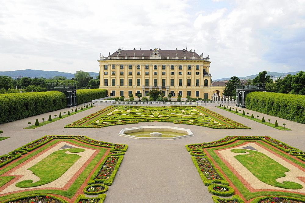 Kaiserpark at Schoenbrunn Palace, Vienna, Austria, Europe