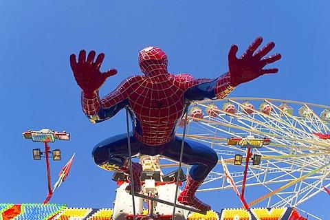 Spiderman figure, fair