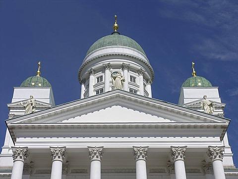 Helsinki kathedral senats square Helsinki Finland