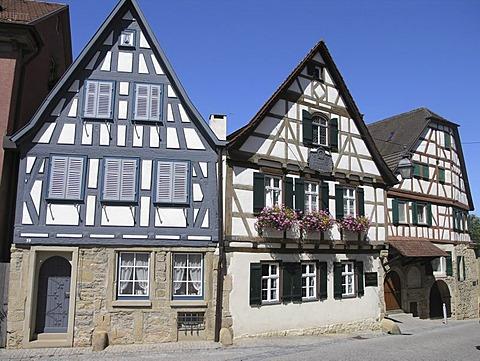 Schiller's birthplace in Marbach am Neckar Baden Wuerttemberg Germany