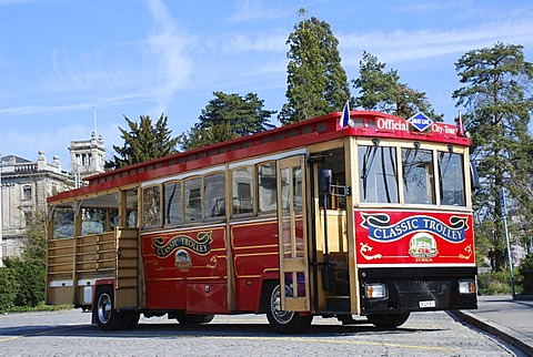 Sightseeing bus Zurich Switzerland