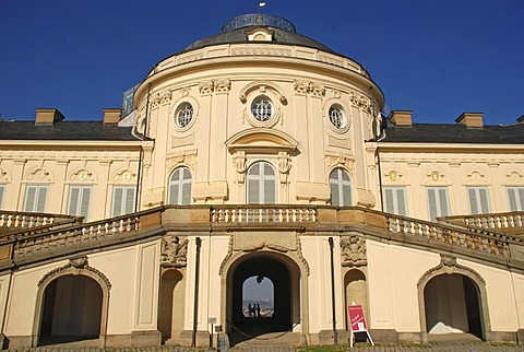 Schloss Solitude Stuttgart Baden Wuerttemberg Germany