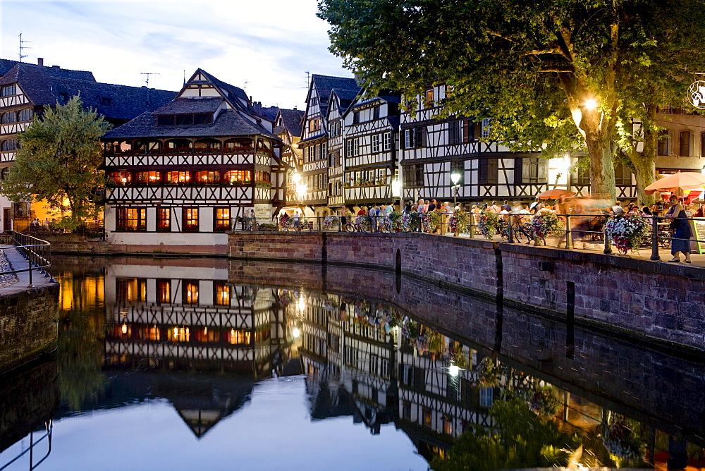 Restaurant Maison de Tanneurs, Petite France, Strasbourg, Alsace, France, Europe