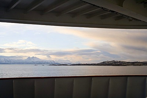 Cruise with the Hurtigruten, Norwegian Coastal Express, Hurtigruten MS Finnmarken Ship, North Norway, Scandinavia, Europe