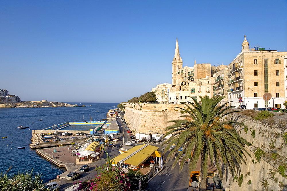 Church, St. Pauls, Valletta, Malta, Europe