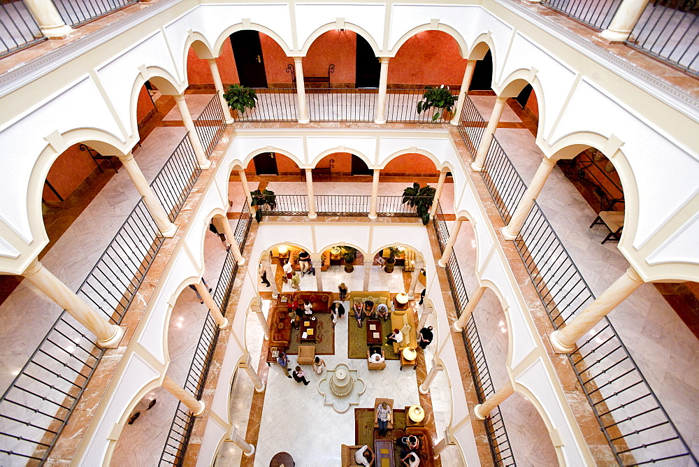 Hotel, Seville, Andalusia, Spain, Europe