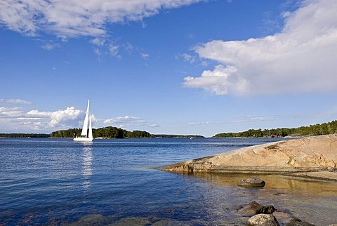 Finnhamn Island, skerry, Stockholm archipelago, Sweden