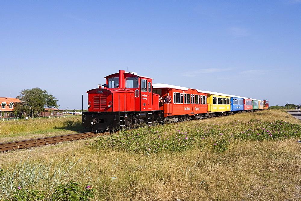 Island Railway, Langeoog, East Frisian Islands, Lower Saxony, Germany, Europe