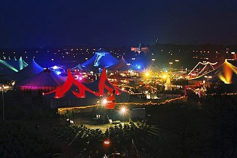 Winter Tollwood Festival in Munic Germany
