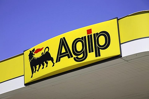 Company sign Agip