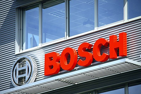 Bosch company sign