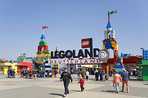 Legoland Park near Guenzburg, Germany