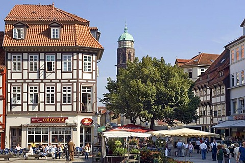 The city of Goettingen, Germany