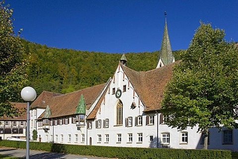 The convent of Blaubeuren, Baden-Wuerttemberg, Germany
