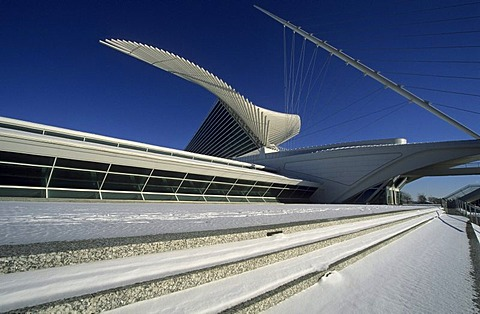 Milwaukee Art Museum, Milwaukee, Wisconsin, USA