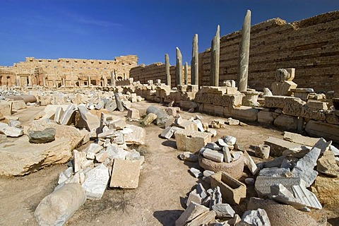 New forum at Leptis Magna