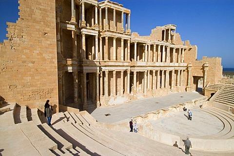 Roman theater of Sabrata