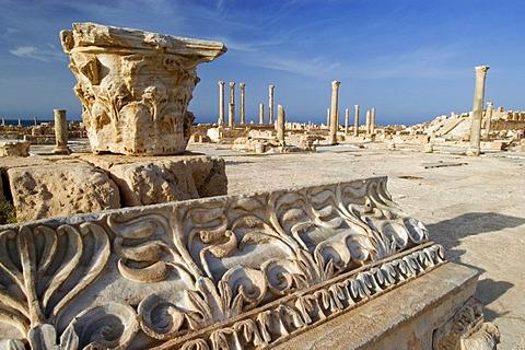Roman archeological site of Sabrata