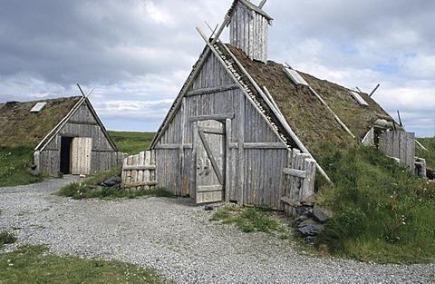 Viking settlement Norstaed, LÂ¥Anse aux Meadows, Newfoundland