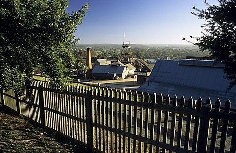 Historic houses at Sovereign Hill, Ballarat, Victorian Goldfields, Victoria, AUS
