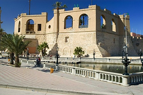 Former fortress, today National Museum in Tripoli, Libya