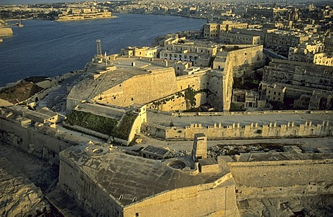 View over Valetta, La Valetta, capital of Malta, Unesco World Heritage Site