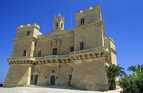 Selmun Palace near Mellieha, Malta