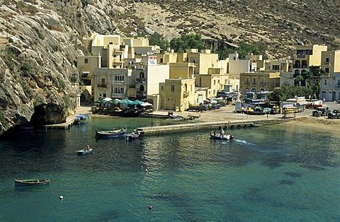 Xlendi Bay, Gozo island, Malta