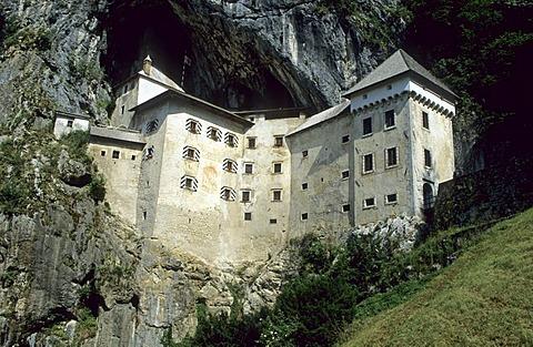 Castle of Predjama, Predjamski Grad, Notranjska, Slovenia