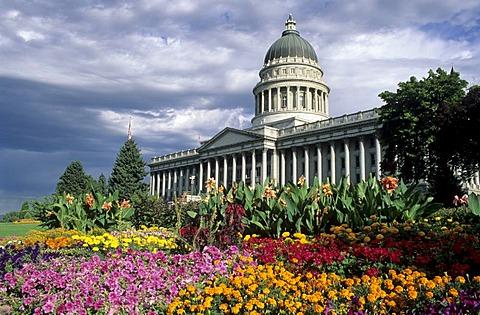 Capitol, parliament building, Salt Lake City, Utah, USA