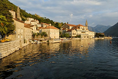 Historic town of Perast at the Bay of Kotor, Montenegro