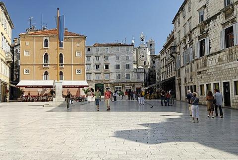 Historic old town of Split, Dalmatia, Croatia