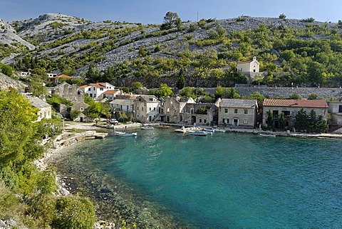Small village by the sea, Dalmatia, Croatia