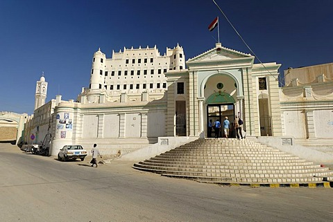 Palace of the sultan, Sayun, Wadi Hadramaut, Yemen