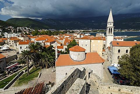 Old town of Budva, Montenegro, Crna Gora