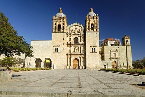 Santo Domingo church in Oaxaca, Mexico