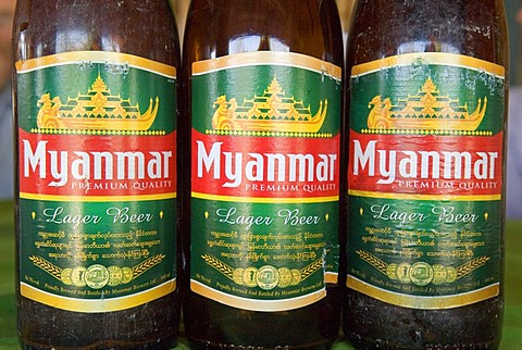 Beer from Myanmar