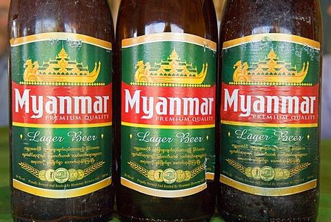 Beer from Myanmar