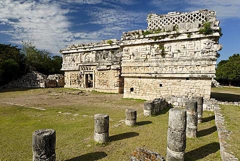 Anexo de las Monjas, Maya and Toltek archeological site Chichen Itza, new worldwonder, Yucatan, Mexico
